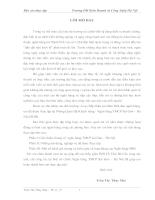 Báo cáo thực tập tại ngân hàng thương mại cổ phần sài Gòn – Hà Nội