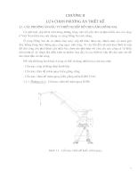 Thiết kế cần trục chân đế mâm quay KPM 32,5 Tấn - Chương 2