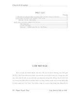 Hoàn thiện công tác quản lý nhà nước về hoạt động đầu tư của UBND quận Hải An