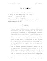 Giải pháp đẩy mạnh hoạt động bán hàng điện tử, điện lạnh tại Cty TM Việt Long