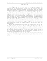 Báo cáo thực tập tại Công ty Vinatrans Hà Nội