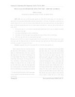 Phân loại người Khơ me song ngữ Việt – Khơ me tại ĐBSCL