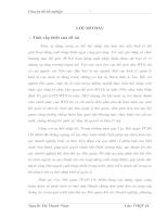 Hoàn thiện hoạt động tính thuế tại Cục Hải Quan TP .Hồ Chí Minh Sau khi Việt Nam gia nhập WTO