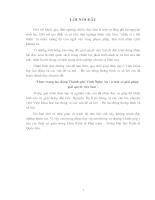 Thực trạng lao động Thành phố Vinh Nghệ An & Một số Giải pháp Giải quyết việc làm