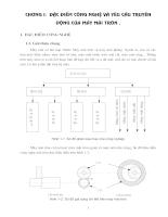 Đặc điểm công nghệ & yêu cầu truyền động của máy mài tròn