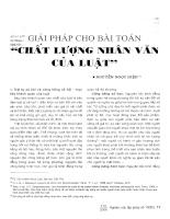Giải pháp cho bài toán chất lượng nhân văn của luật.pdf