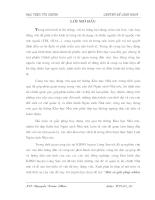 Một số giải pháp nhằm hoàn thiện công tác huy động vốn thông qua phát hành trái phiếu Chính phủ tại Kho bạc NN Huyện Lương Sơn( Hòa Bình)