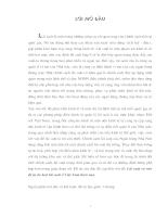 Lãi suất và vấn đề tự do hoá lãi suất ở Việt Nam hiện nay