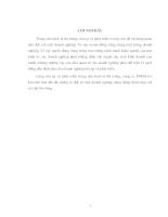 Báo cáo tổng hợp công ty TNHH Cơ kim khí Sơn Hà