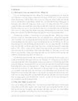 """Báo cáo tổng kết nhiệm vụ """"quan trắc môi trường nước lưu vực sông đồng nai – Sài Gòn"""