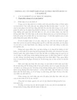 Chuyển dịch cơ cấu ngành kinh tế của tỉnh Nam Định giai đoạn 1996 - 2000 (chương I + II).