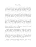 Bước đầu nghiên cứu hiệu quả kinh tế -xã hội của mô hình thu gom và vận chuyển rác thải xóm Châu Hưng, xã Hưng Thịnh, huyện Hưng Nguyên, tỉnh Nghệ An