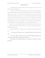 Phân tích tình hình sản xuất kinh doanh của xí nghiệp Thương mại và Bao bì Hà Nội