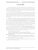 Hoạt động quản trị nhân lực trong công ty Thoát nước Hải Phòng