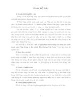 Một số giải pháp nhằm nâng cao năng lực cạnh tranh của Tổng C.ty Bưu Chính Viễn Thông Việt Nam