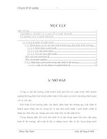 Giải pháp nâng cao năng lực cạnh tranh của Tổng công ty Sông Đà trong thời kỳ hậu WTO