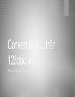 Convert tài liệu trên 123docx