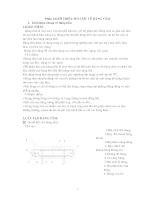 Tính toán thiết kế băng tấm nghiêng