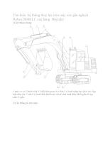 Tìm hiểu hệ thống thủy lực trên máy xúc gầu nghịch
