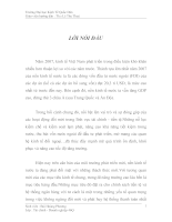 Một số kiến nghị nhằm nâng cao chất lượng thanh toán không dùng tiền mặt tại chi nhánh ngân hàng VP Bank-Yên Phụ- Tây Hồ - Hà Nội