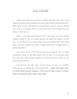 Quá trình thực hiện cổ phần hóa Doanh nghiệp ở Việt Nam & Thực trạng cổ phần hóa ở Ngành Bưu Điện,chậm nhưng chắc