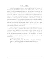 Báo cáo thực tập tổng hợp Công ty kinh doanh nước sạch Hà Nội