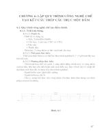 Thiết kế cầu trục một dầm Q=5T L=16,5m - Chương 5