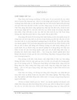 Phân Tích Tình Hình Và Hiệu Quả Sử Dụng Vốn tại Công Ty Xuất Nhập Khẩu Nông Sản Thực Phẩm An Giang