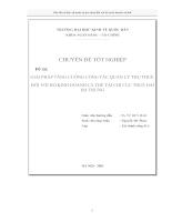 Giải pháp tăng cường công tác quản lý thu thuế đối với hộ kinh doanh cá thể tại Chi cục Thuế Hai Bà Trưng