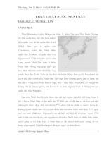 Đặc trưng tâm lý khách du lịch Nhật Bản.