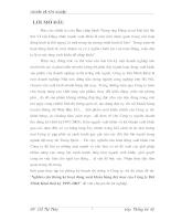 Nghiên cứu thống kê hoạt động xuất khẩu hàng dệt may của Công ty Dệt Minh Khai thời kỳ 1995-2003