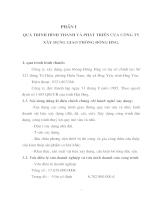 Báo cáo tổng hợp - Công ty xây dựng giao thông Đông Hưng - Tỉnh Hưng Yên
