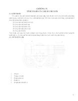 Thiết kế cần trục chân đế mâm quay KPM 32,5 Tấn - Chương 4