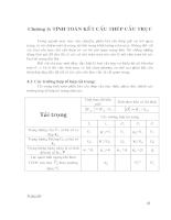 Thiết kế cầu trục một dầm Q=5T L=16,5m - Chương 4