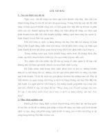 Hoạt động của Doanh nghiệpNN - Cửa hàng miễn thuế của Cty dịch vụ hàng không sân bay nội bài