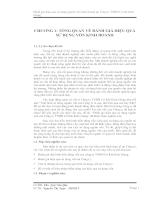 Đánh giá hiệu quả sử dụng nguồn vốn của Công ty TNHH Cơ Khí Kiên Giang phần 1