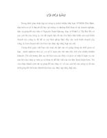 Báo cáo tổng hợp của Cty THHH Phú Bình