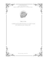 Chính sách đối ngoại của việt nam với asean sau năm 1995