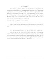Hoạch định chiến lược phát triển Công ty thương mại lâm sản Hà Nội