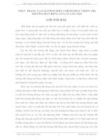 Thực trạng và giải pháp điều tiết phát triển thị trường bất động sản của Hà Nội