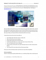 Tạo hiệu ứng Rollover cho trang web