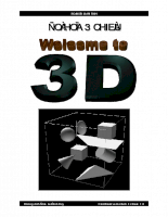 Các vật thể 3D được tạo ra như thế nào ?