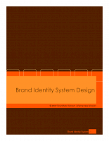 Brand Identity System Design