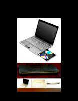 Tìm hiểu cấu hình hệ thống máy tính Portege R600