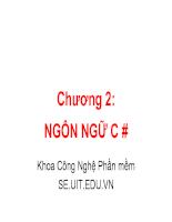 Slide giới thiệu về C++