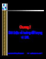 Slide bài giảng hướng đối tượng UML