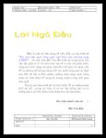 Trò chơi xếp gạch bằng ngôn ngữ Java theo phương pháp LTHDT