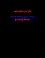 KHÔNG GIAN MÊTRIC - Ánh xạ liên tục.pdf