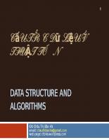 Slide ôn tập cấu trúc dữ liệu và thuật toán