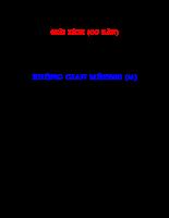 KHÔNG GIAN MÊTRIC - Không gian mêtric đầy đủ.pdf